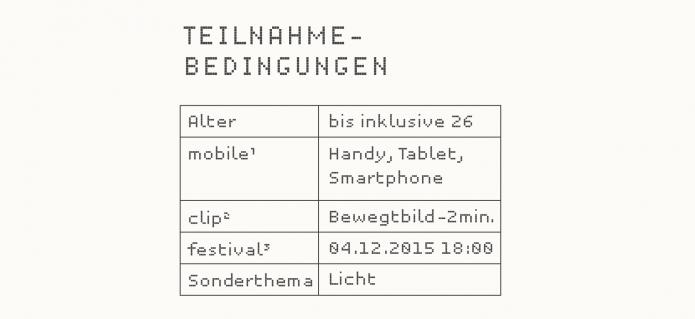 mobile clip festival teilnahmebedingungen 2015
