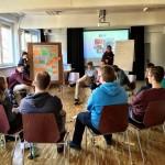 """Think Big Workshop """"Mit Viralen Clips die Welt verändern"""" beim mobile clip festival Workshoptag"""